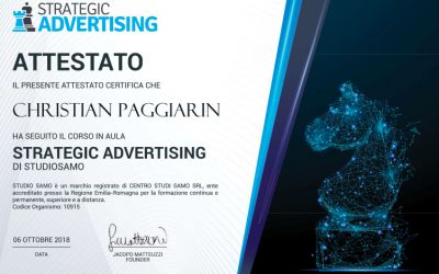 Corso strategic advertising
