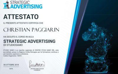 Corso strategic advertising