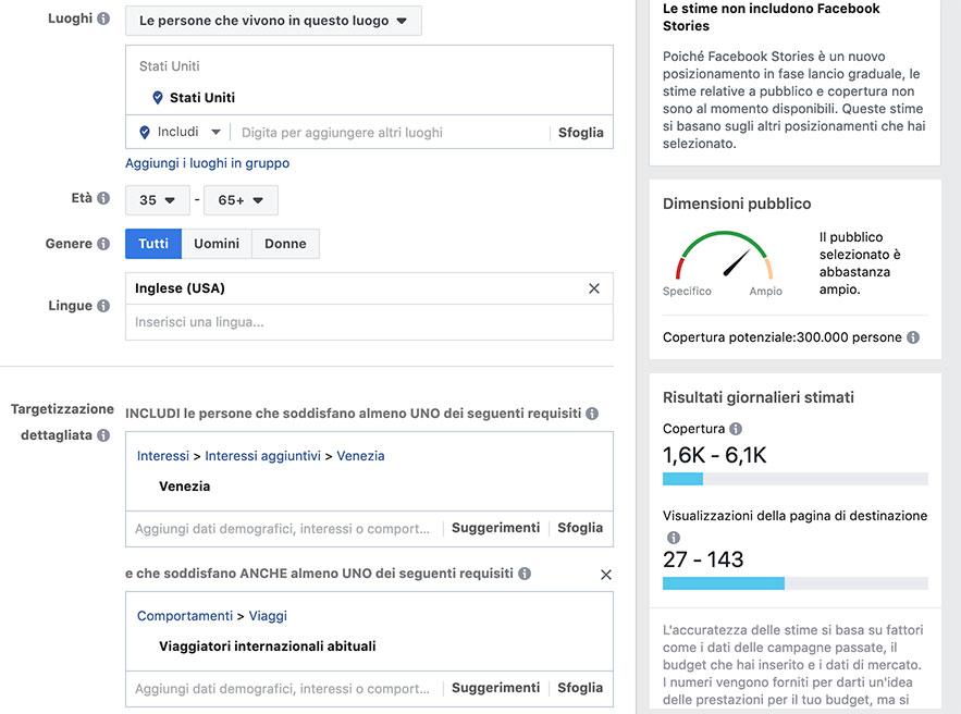 Facebook marketing, come definire il pubblico per il tuo hotel