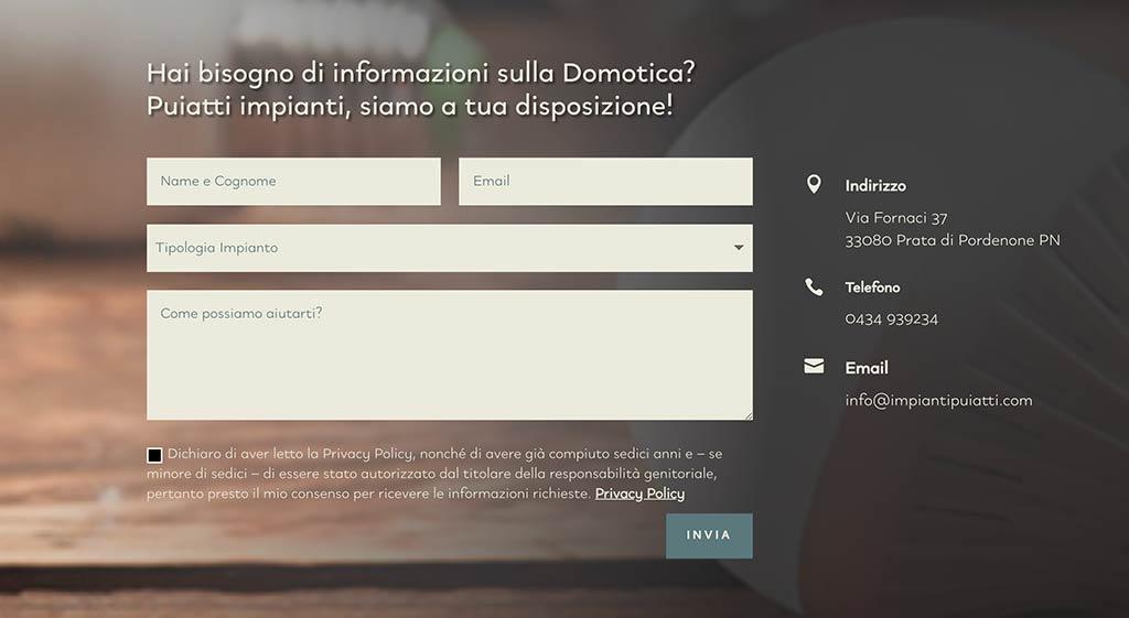 Sviluppo siti web Pordenone - Creazione siti internet Pordenone - Siti per aziende a Pordenone - Orto Creativo