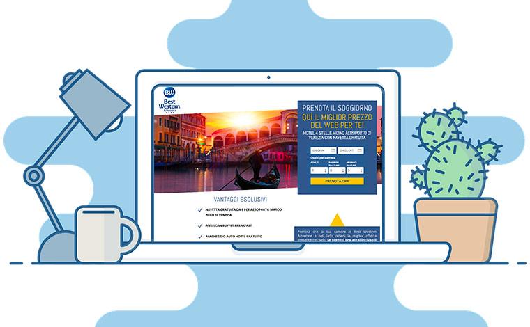 Sviluppo landing page efficace - Creazione landing page - Ideazione campagne di marketing con l'uso di landing page
