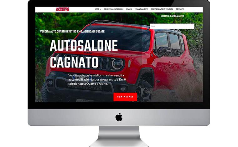 Siti web Venezia: Autosalone Cagnato