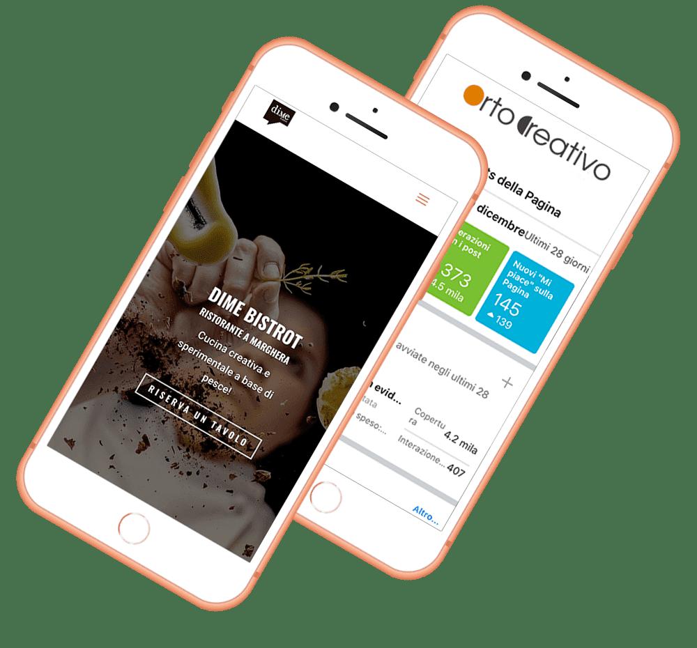 Siti web creati da Orto Creativo