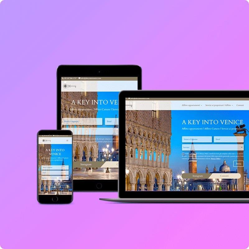 Creazione siti web per strutture ricettive